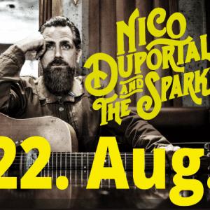 EINTRITTSKARTE NICO DUPORTAL & THE SPARKS